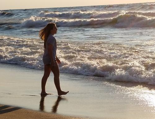 Lisa on Beach